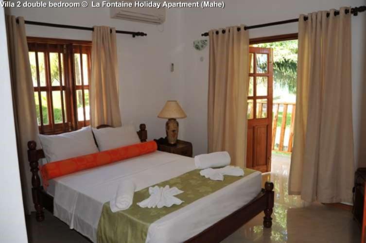Villa 2 double bedroom © La Fontaine Holiday Apartment (Mahe)
