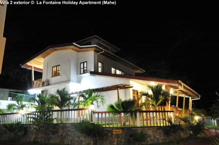 Villa 2 exterior view © La Fontaine Holiday Apartment (Mahe)