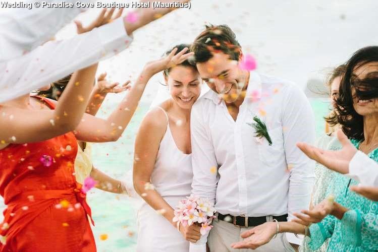Wedding in Paradise Cove Boutique Hotel (Mauritius)