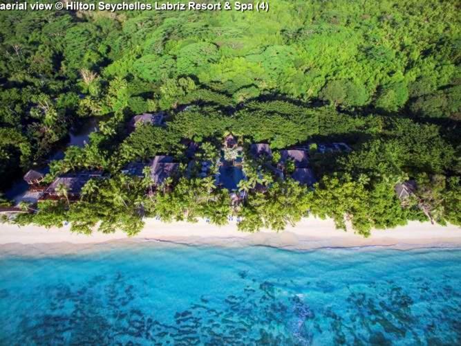 aerial view © Hilton Seychelles Labriz Resort & Spa
