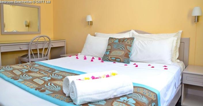 bedroom Beachvillas