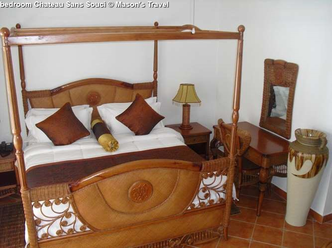bedroom suite Chateau Sans Souci