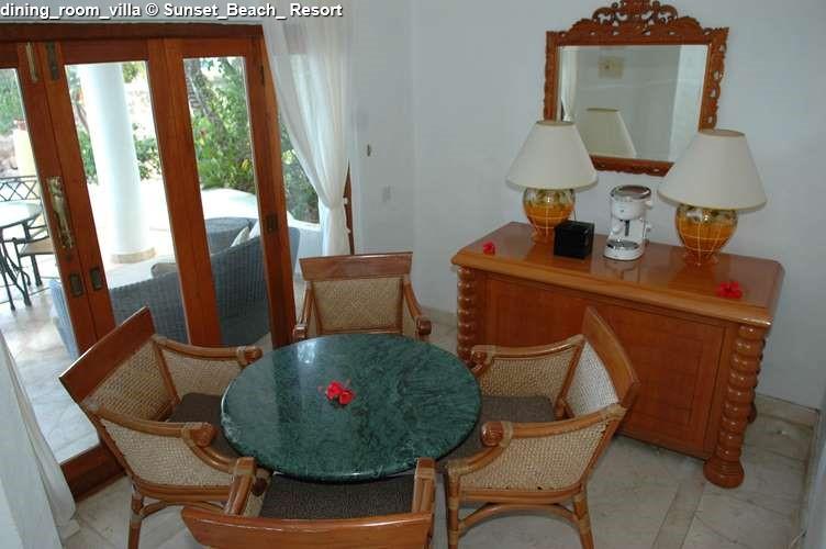 dining_room_villa Sunset_Beach_ Resort