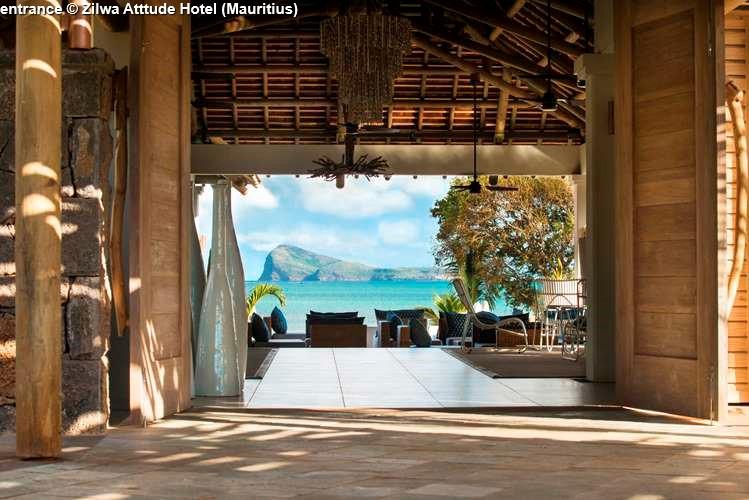 entrance Zilwa Atttude Hotel (Mauritius)
