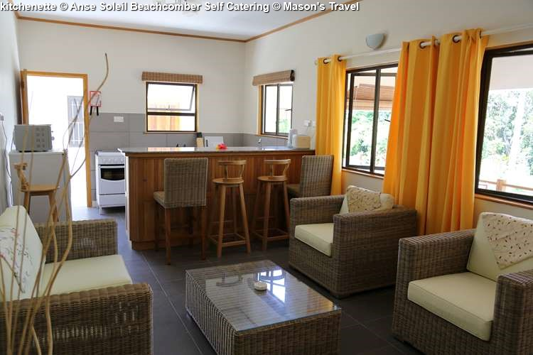 kitchenette Anse Soleil Beachcomber Self Catering