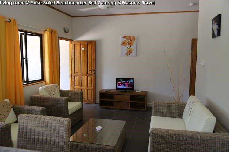living room Anse Soleil Beachcomber Self Catering