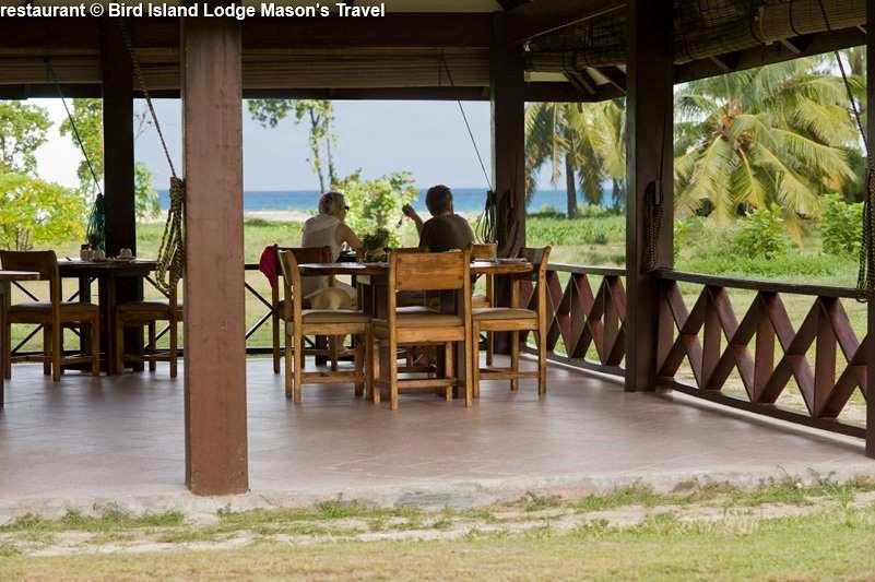 restaurant Bird Island Lodge