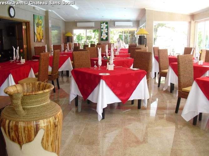 restaurant Château Sans Souci
