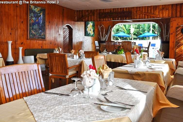 restaurant The Britannia Hotel