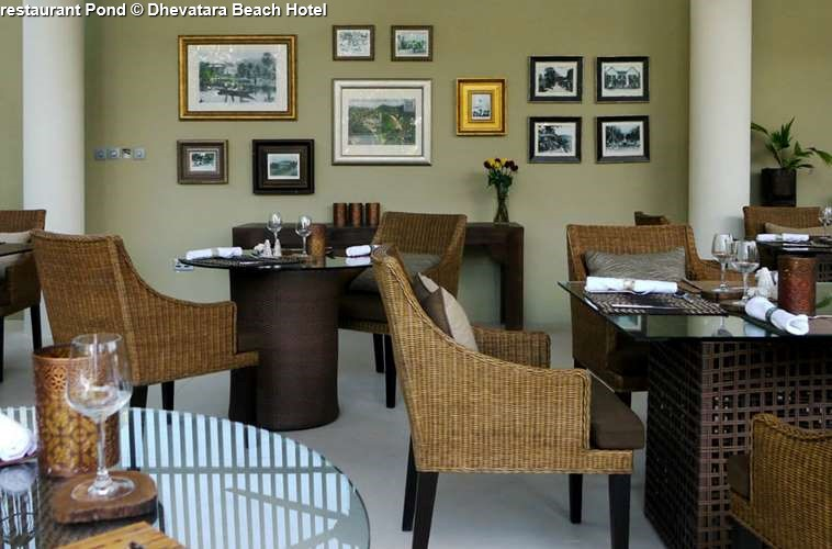 restaurant Pond Dhevatara Beach Hotel