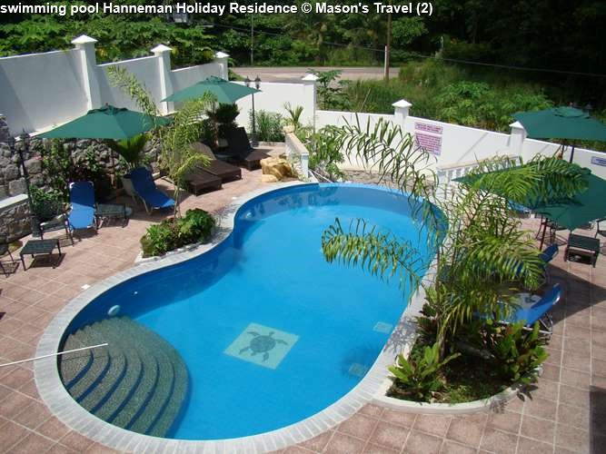 swimming pool Hanneman Holiday Residence
