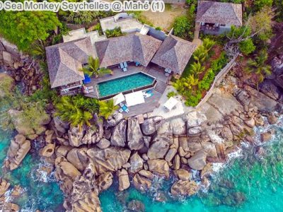 aerial view Sea Monkey Seychelles @ Mahé