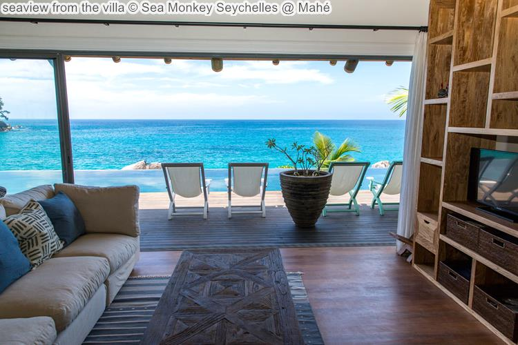 seaview from the villa Sea Monkey Seychelles @ Mahé
